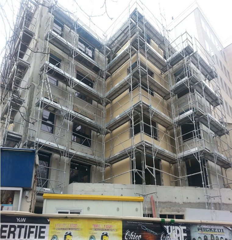 Construction d'un ensemble immobilier